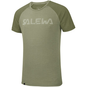 Salewa Pedroc Delta Dry S/S Tee Men oil green/5876